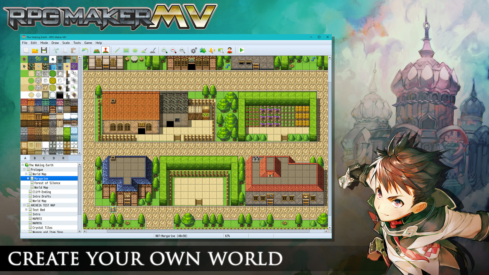 RPG Maker MV (Steam, RU region) + Подарок