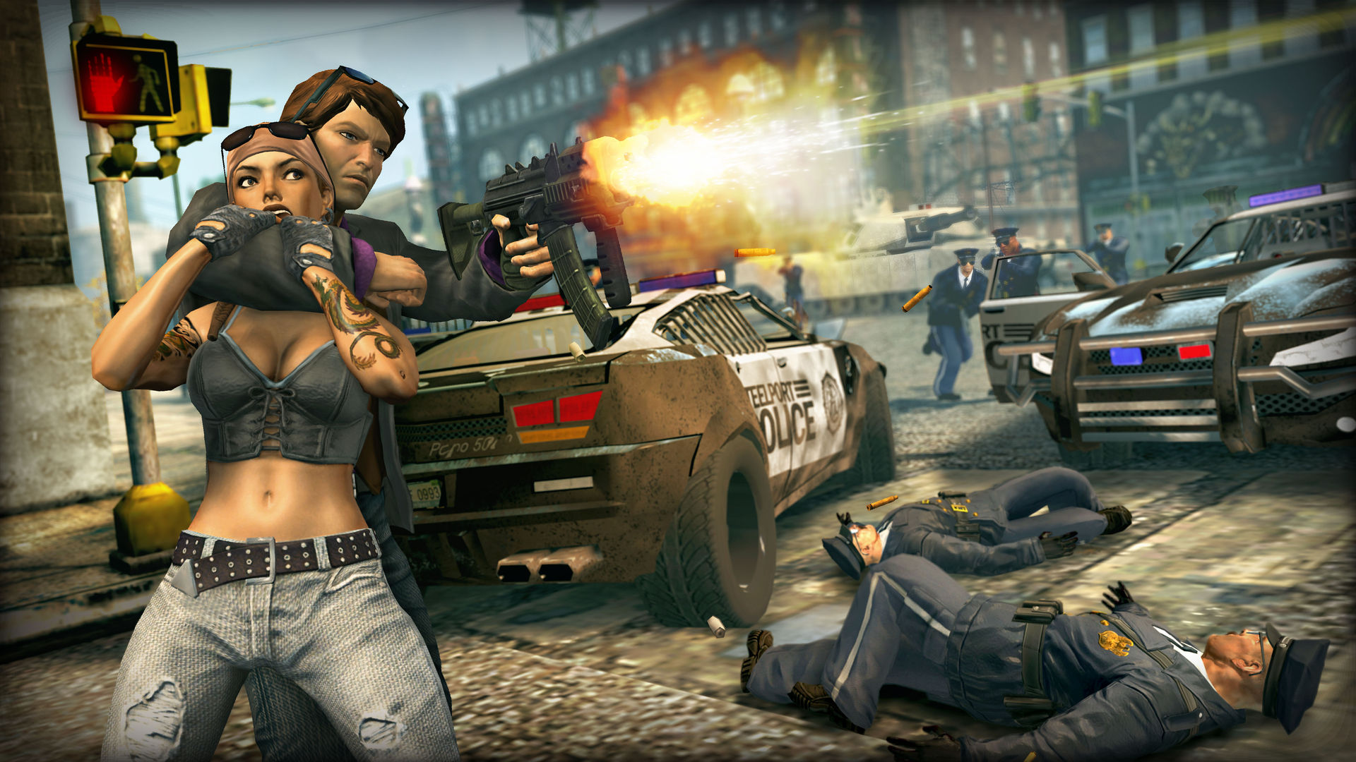 Saints Row: The Third  The Full Package Steam RU + Gift