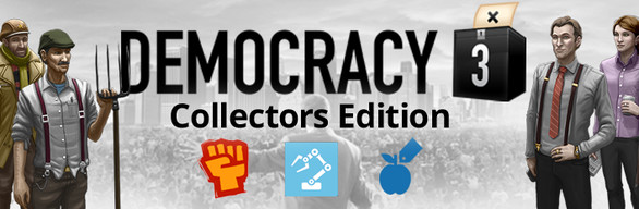Democracy 3 Collector´s Edition (Steam, RU) + Gift