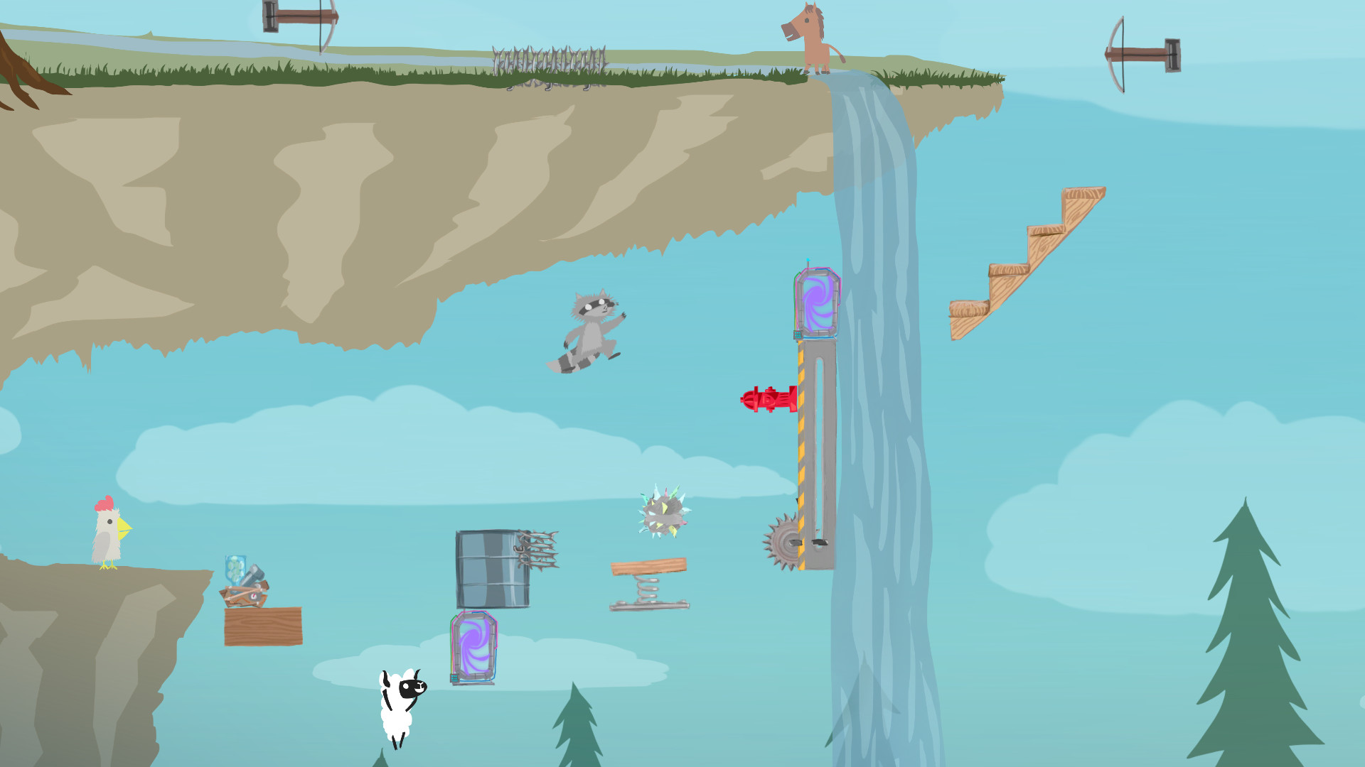 Ultimate Chicken Horse (Steam, RU region) + Подарок