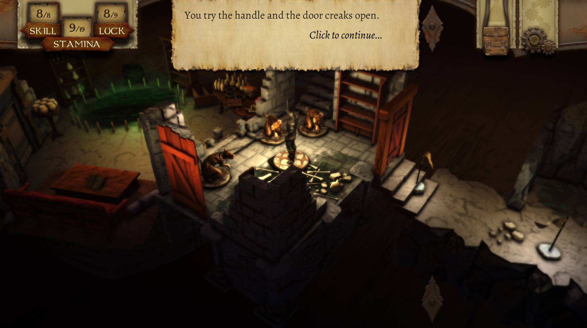 The Warlock of Firetop Mountain (Steam, RU) + Gift