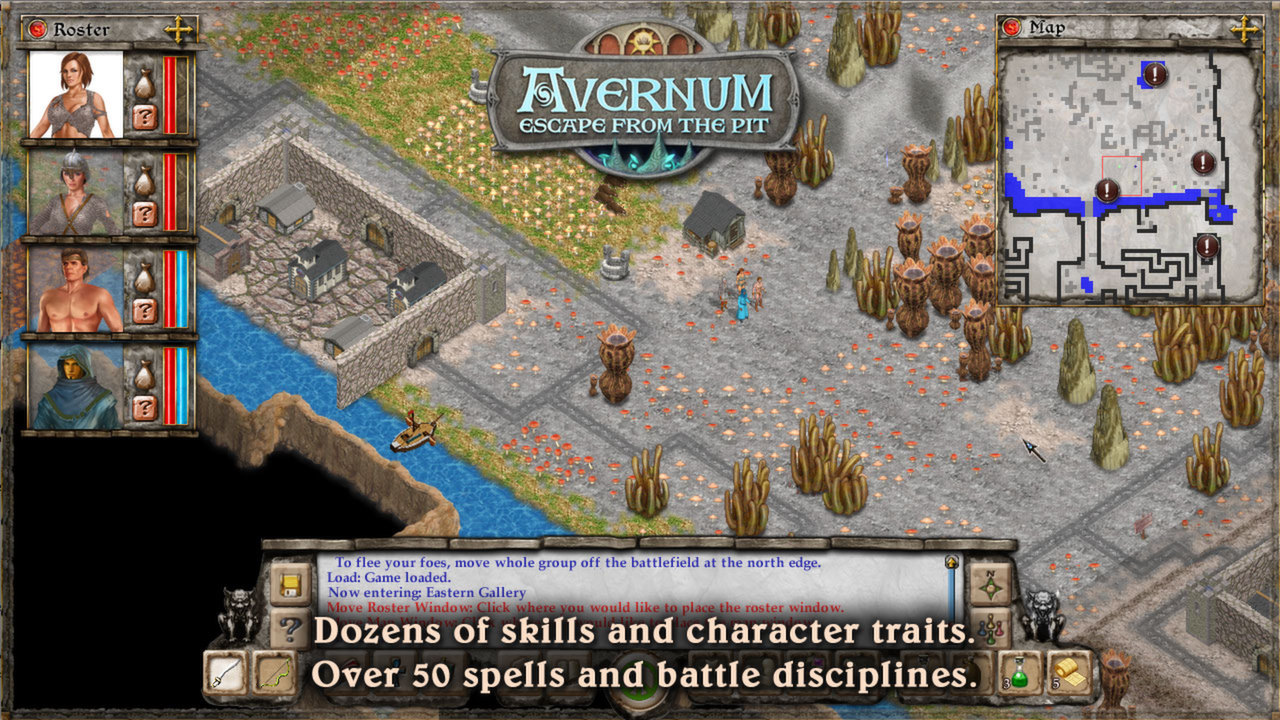 Avernum: Escape From the Pit (Steam, RU region) + Gift