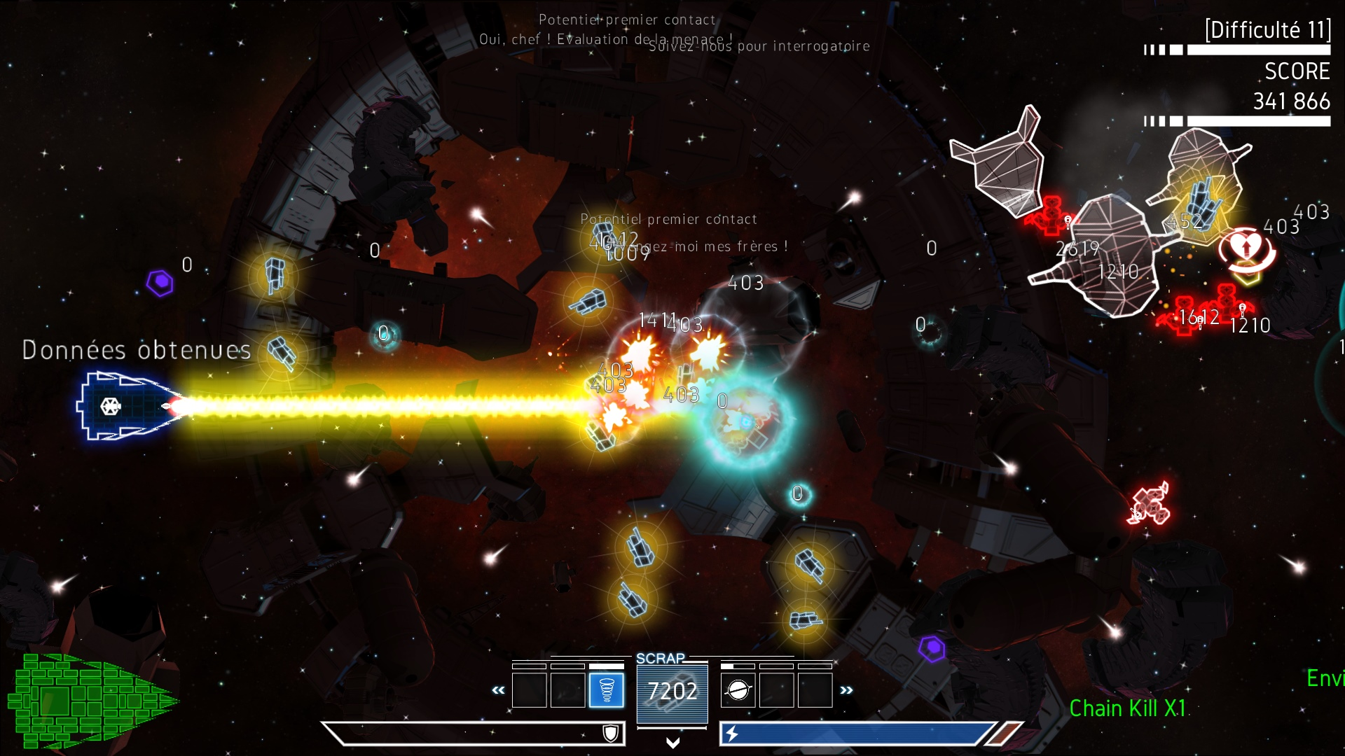 Psycho Starship Rampage (Steam, RU region) + Подарок
