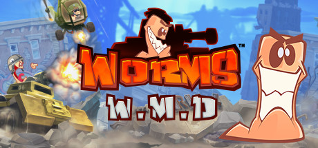 Worms W.M.D (Steam RU)✅ 2019