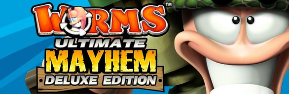 Worms Ultimate Mayhem - Deluxe Edition (Steam RU)&#9989 2019