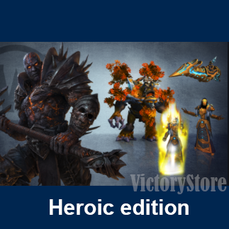 WoW: Shadowlands - Heroic Edition [EU] +50lvl ⚡ Key ✔️