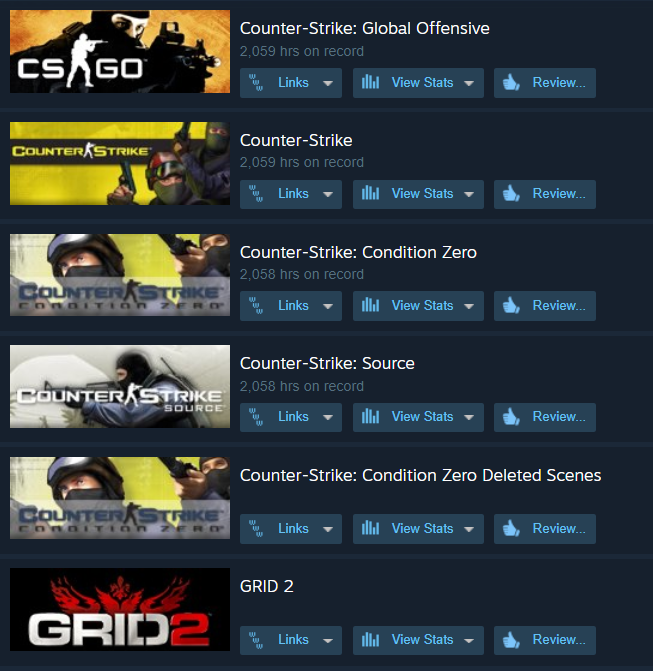 CS:Complete PRIME 8000* hrs New Steam Account + Grid 2