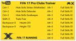 FIFA 17 Pro Clubs Trainer (чит)