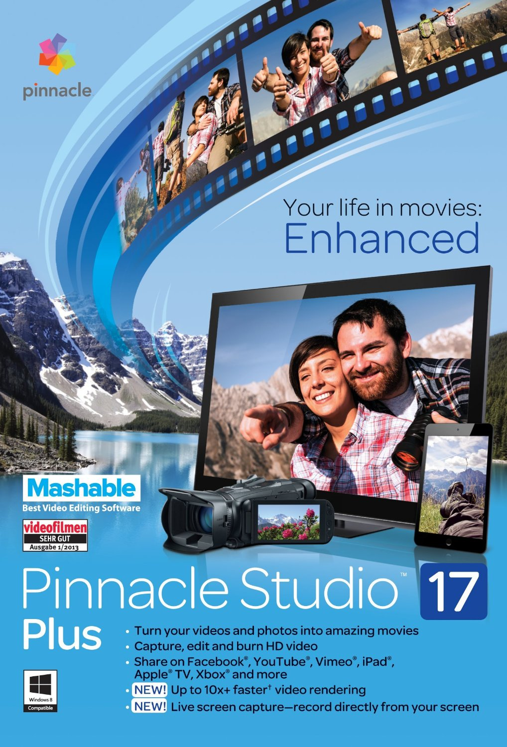 Pinnacle Studio 17 Standard ( ESD) (Офицальная версия)