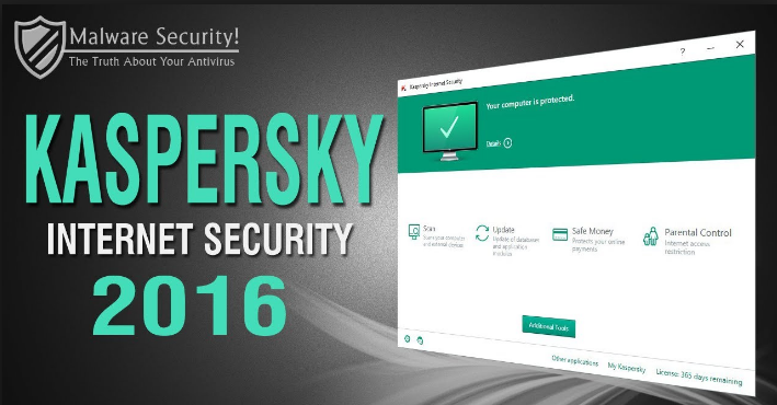 Kaspersky Internet Security (2016) 1 year = 1 pc one mo