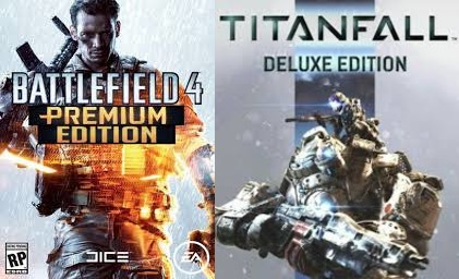 Купить Battlefield 4 Premium Edition+Titanfall Deluxe Edition