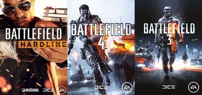 Купить Battlefield 3+4(Оба Premium)+Hardline