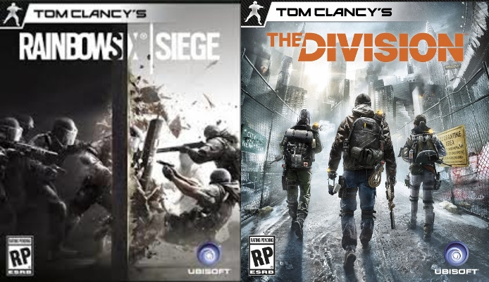 Uplay = Tom Clancy's Rainbow Six Siege + The Division