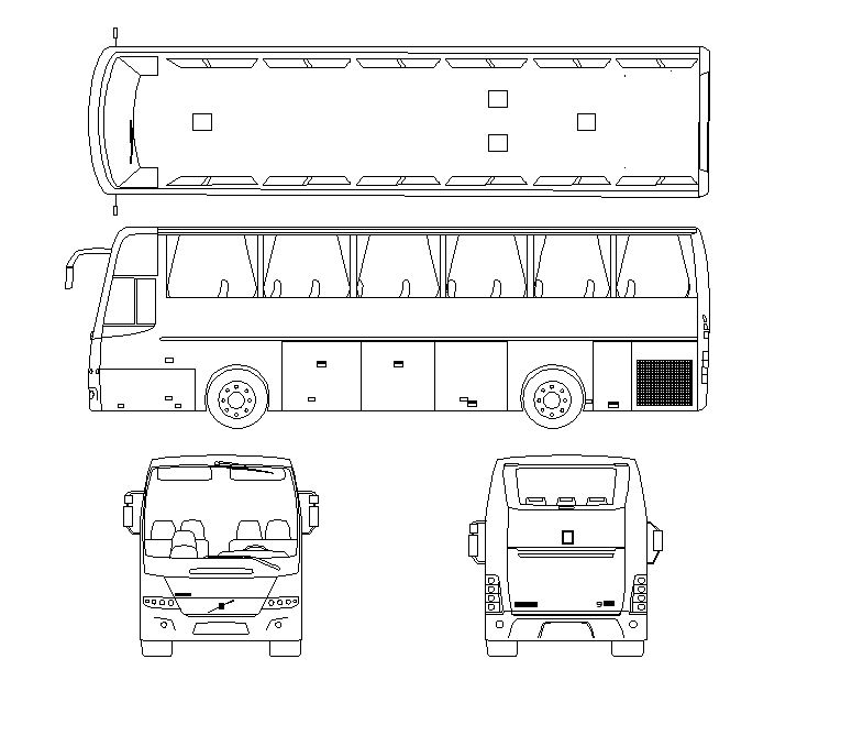 Plans bus company VOLVO