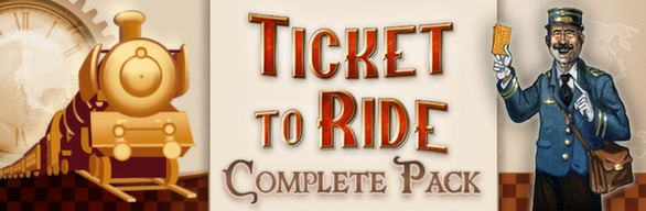 Ticket to Ride Complete Pack Steam (key Link) RF