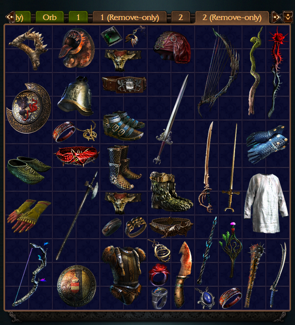 Path of Exile league standard
