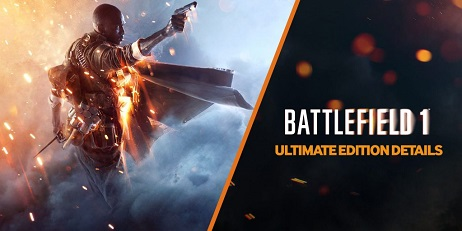 Battlefield 1 Ultimate Edition, ORIGIN Account