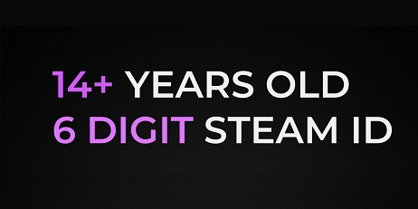 15 Years Old - 6 DIG - 8 Games, STEAM Account