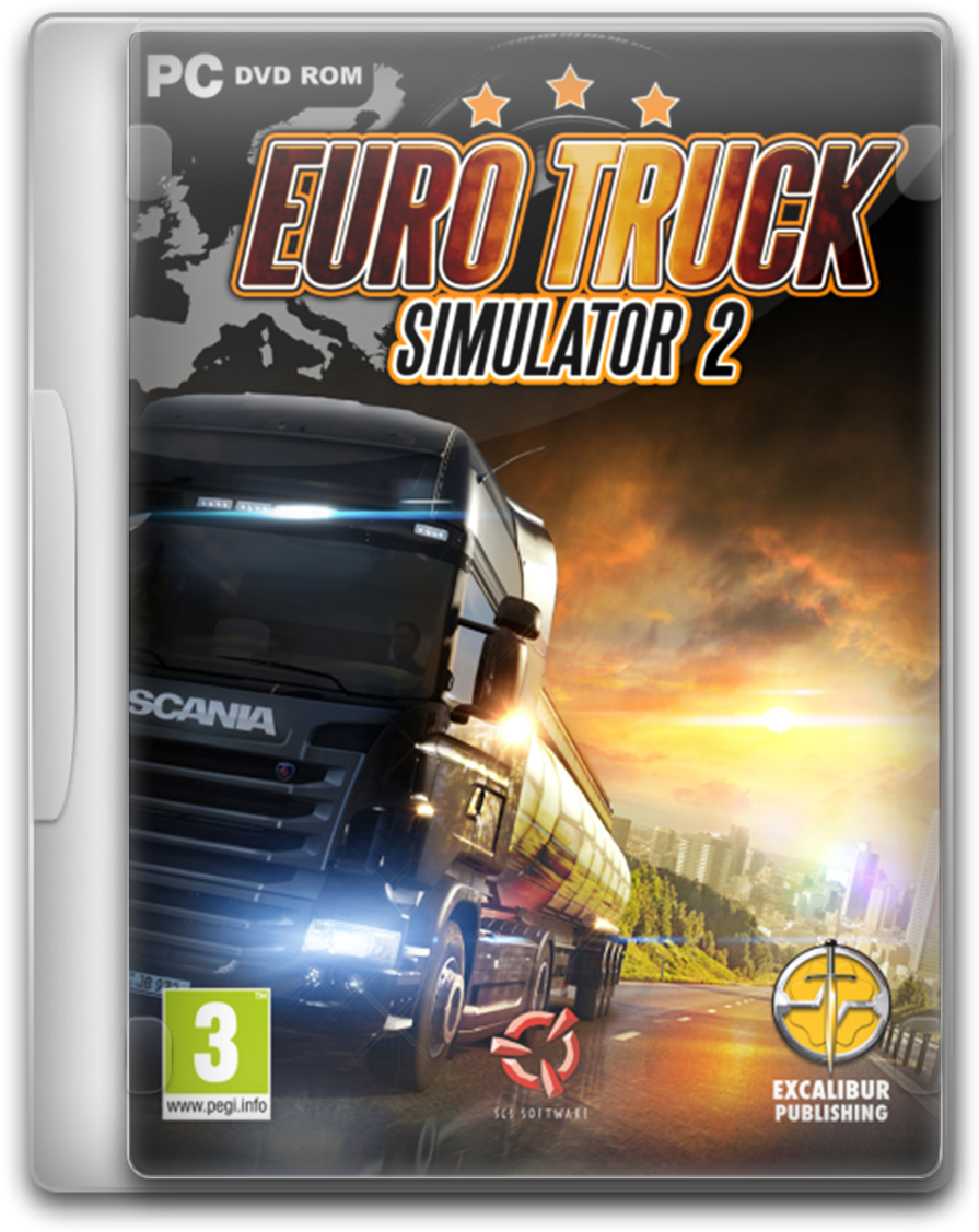 Euro Truck Simulator 2 (Steam key ROW) +подарок