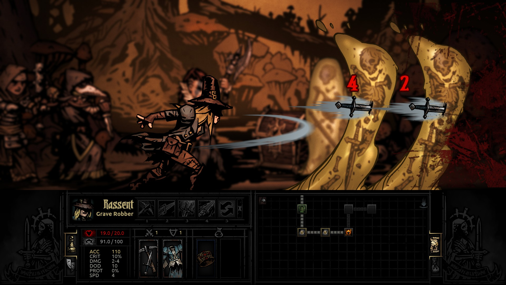 Darkest Dungeon (Steam Gift) RUS/CIS