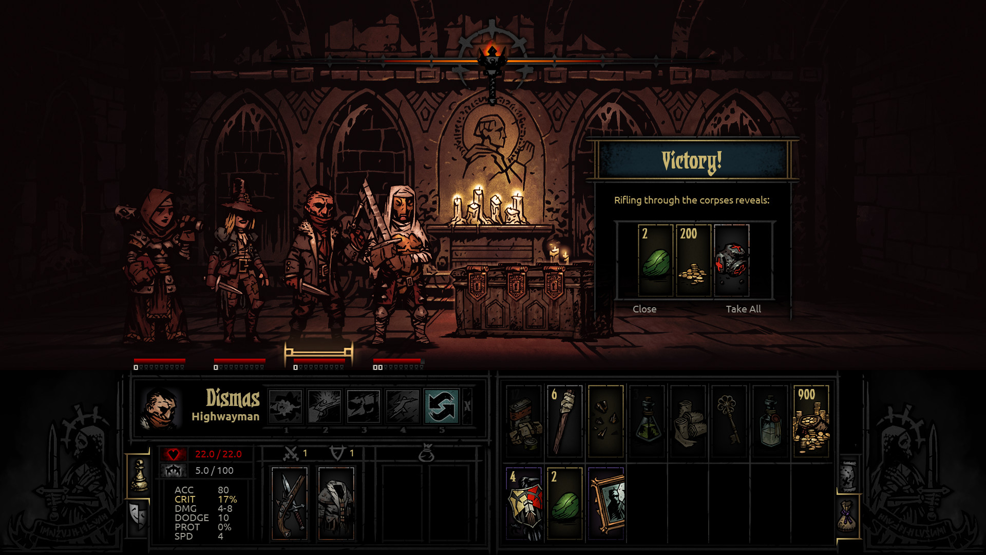 Darkest Dungeon (Steam Gift) RUS / CIS