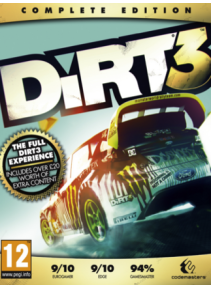 DiRT 3 Complete Edition Steam CD Key + Подарки