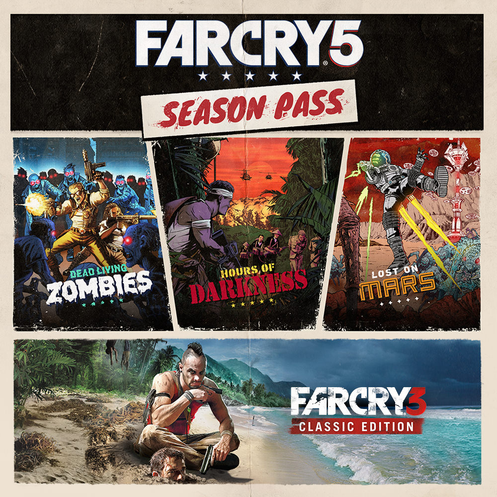 Far Cry 5 Season Pass RU Uplay Key + Presents