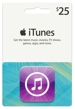 iTunes Gift Card 25$ (USA/SCAN/XX)