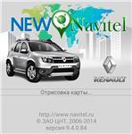 Start screen Renault Duster for New Navitel