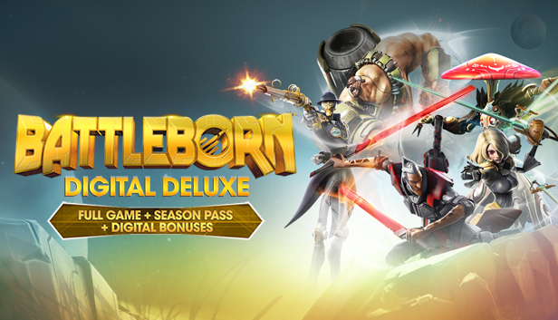 Battleborn Digital Deluxe (Steam gift RU+CIS)