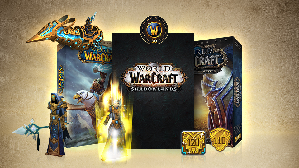 WoW: Complete Collection - Heroic Edition [US/NA] +120