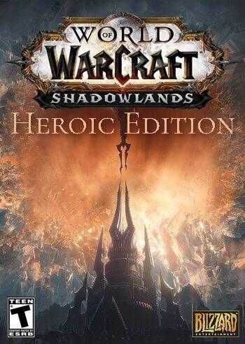 Фотография wow: shadowlands - heroic edition [us/na] + 50lvl