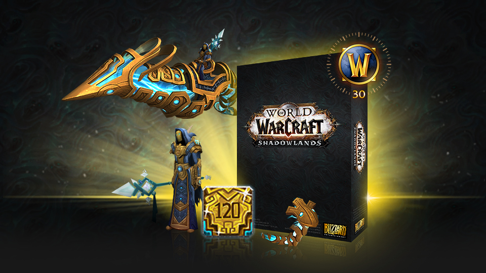 World of Warcraft: Shadowlands - Epic Edition US +120lv