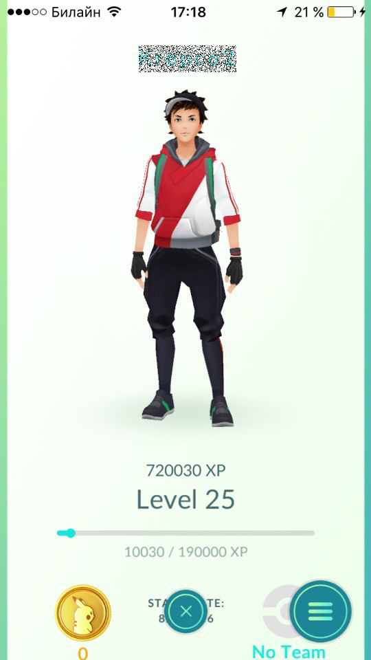 Pokemon GO [Account] 25 level and above + Full Warranty