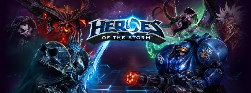 Heroes of the Storm (Startet Pack) + 5Hero + Transport