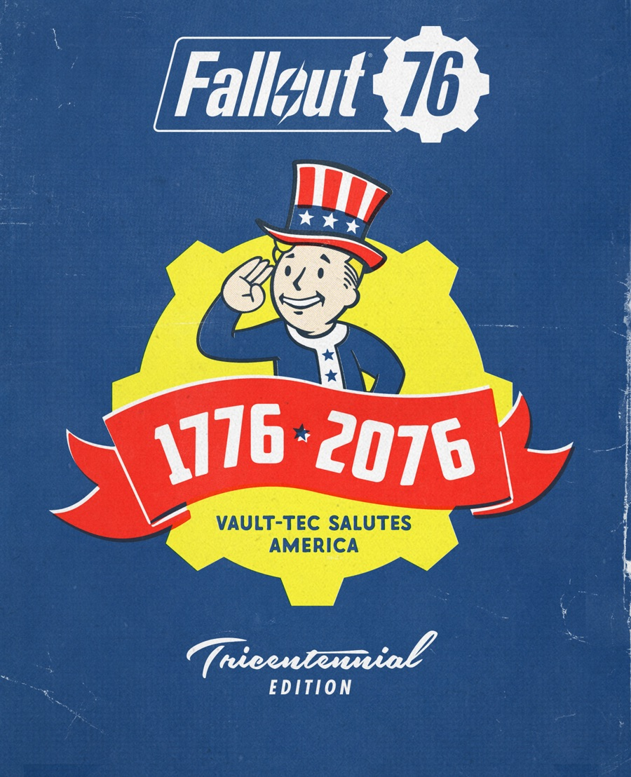 Fallout 76 DELUXE OFFICIAL KEY / LICENSE (Bethesda.net)