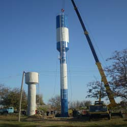 Tower Rozhnovsky 26 m insulated drawings KMD