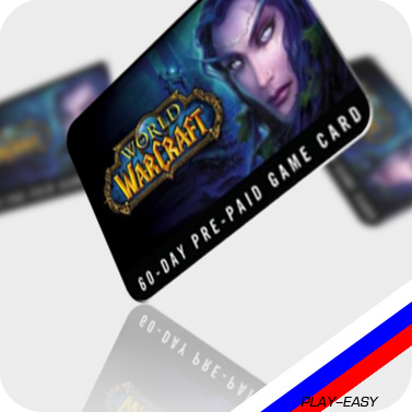 WOW (RUS) 60 DAYS TIME CARD