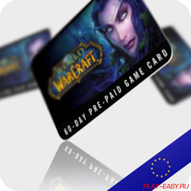 WOW (EU) 60day GameCard - Discount + GIFTS