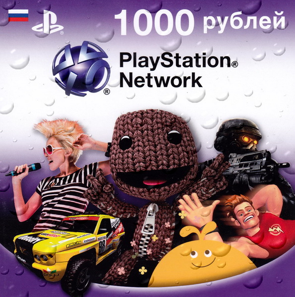 PSN - 1000 rubles - PLAYSTATION NETWORK (RU / PHOTO)