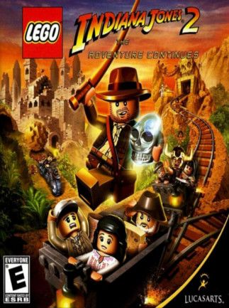 LEGO Indiana Jones 2: The Adventure Continues STEAM ROW