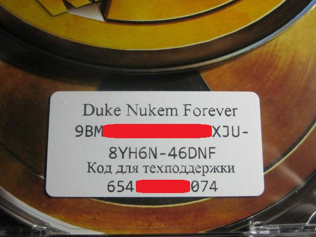 DUKE NUKEM FOREVER - RU VERSION  (STEAM )