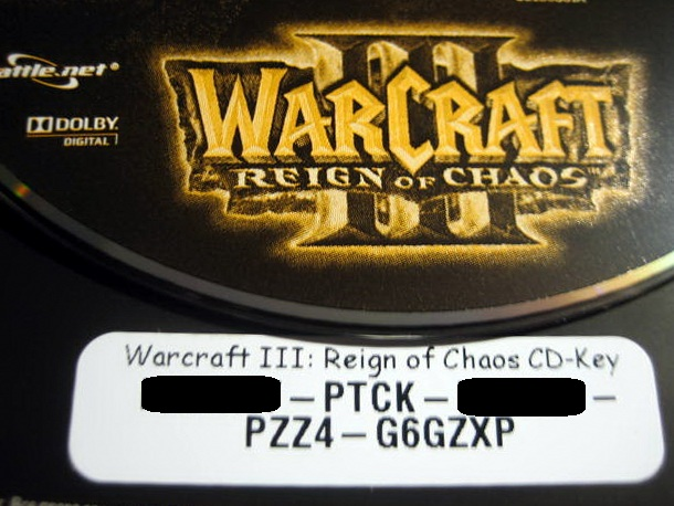 WARCRAFT 3 ROC - REIGN OF CHAOS (PHOTO) WORLDWIDE