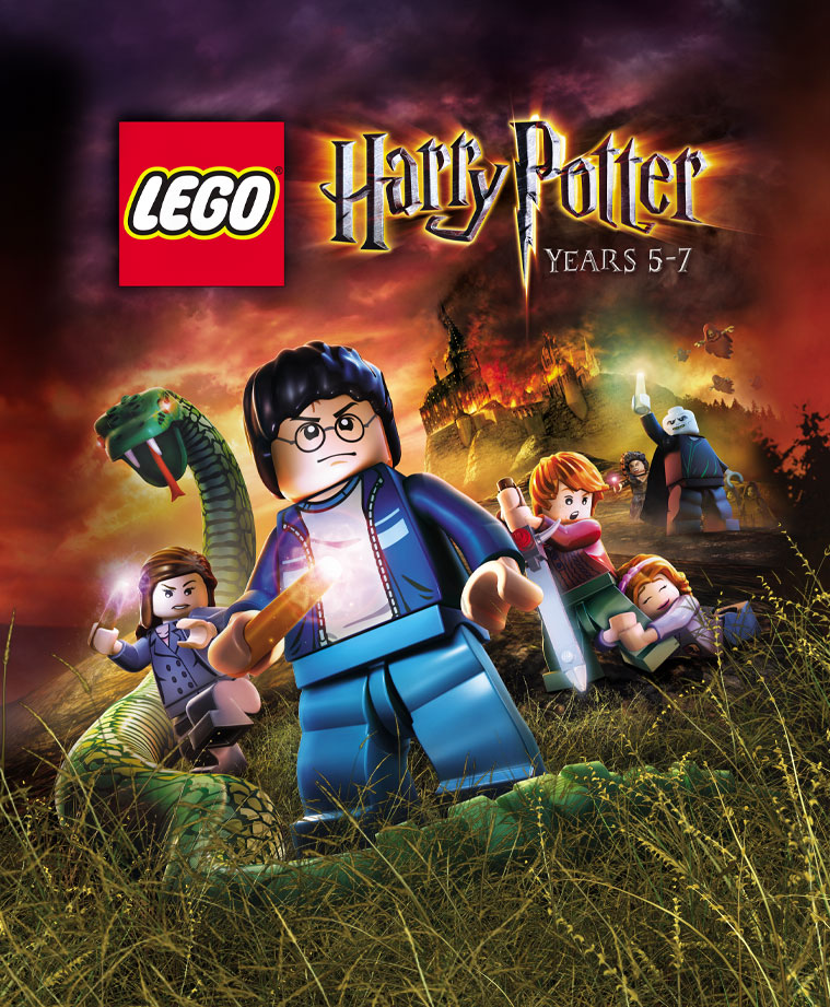 LEGO HARRY POTTER: YEARS 5-7 (STEAM) SCAN
