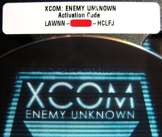 XCOM: ENEMY UNKNOWN - RUSSIAN VERSION (PHOTO)