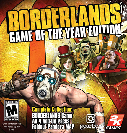 Borderlands Game of the Year (STEAM)