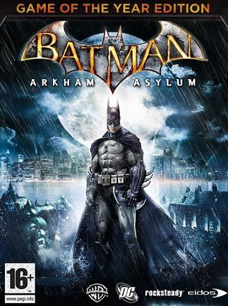 BATMAN ARKHAM ASYLUM GOTY (STEAM Key) Region Free
