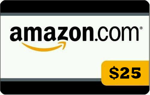 AMAZON $ 25 GIFT CARD (PHOTO) DISCOUNTS