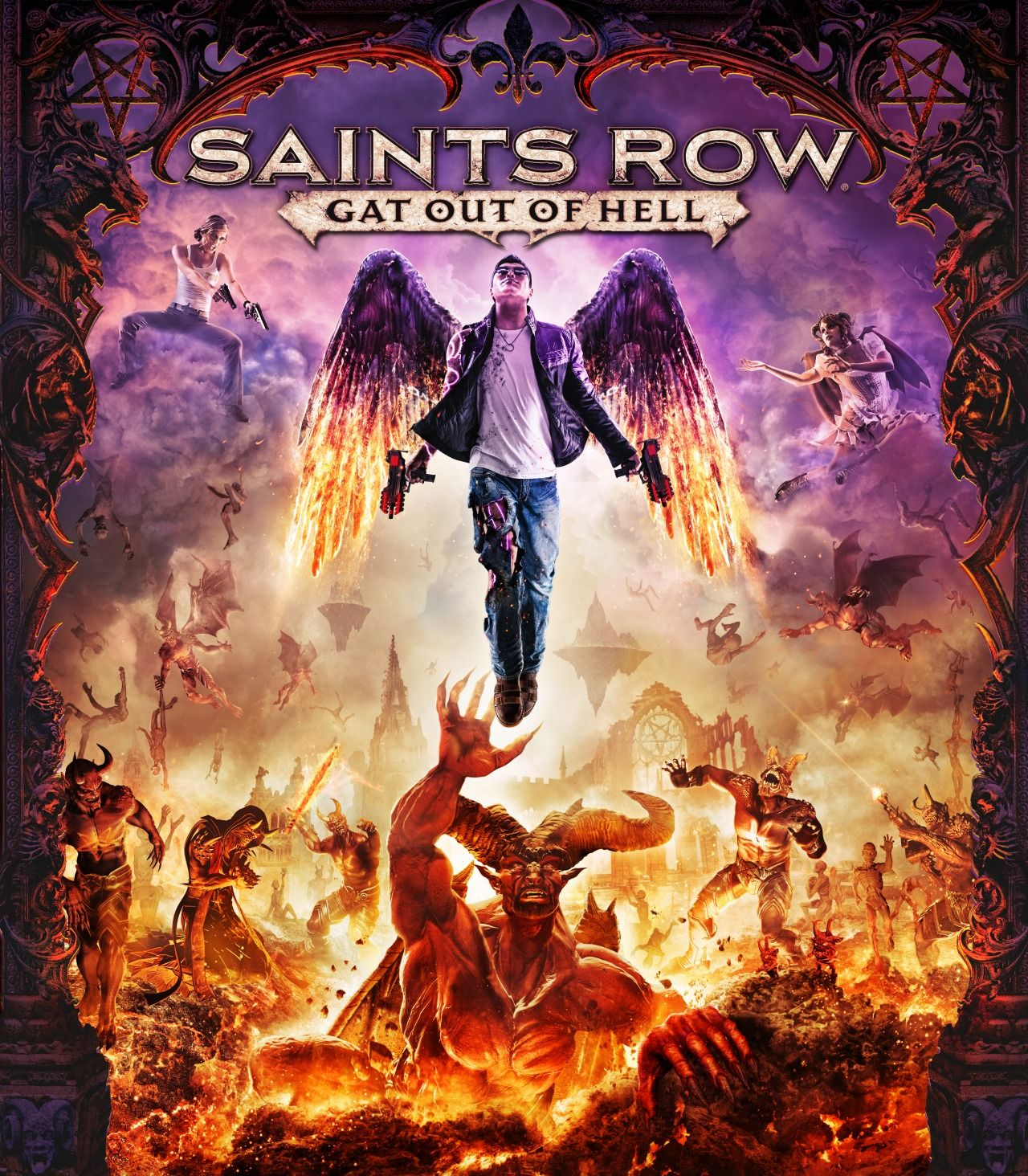 SAINTS ROW: GAT OUT OF HELL +DLC (STEAM/SCAN) РУ ВЕРСИЯ