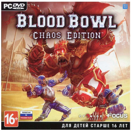 BLOOD BOWL: CHAOS EDITION (STEAM / PHOTO) RUS VERSION